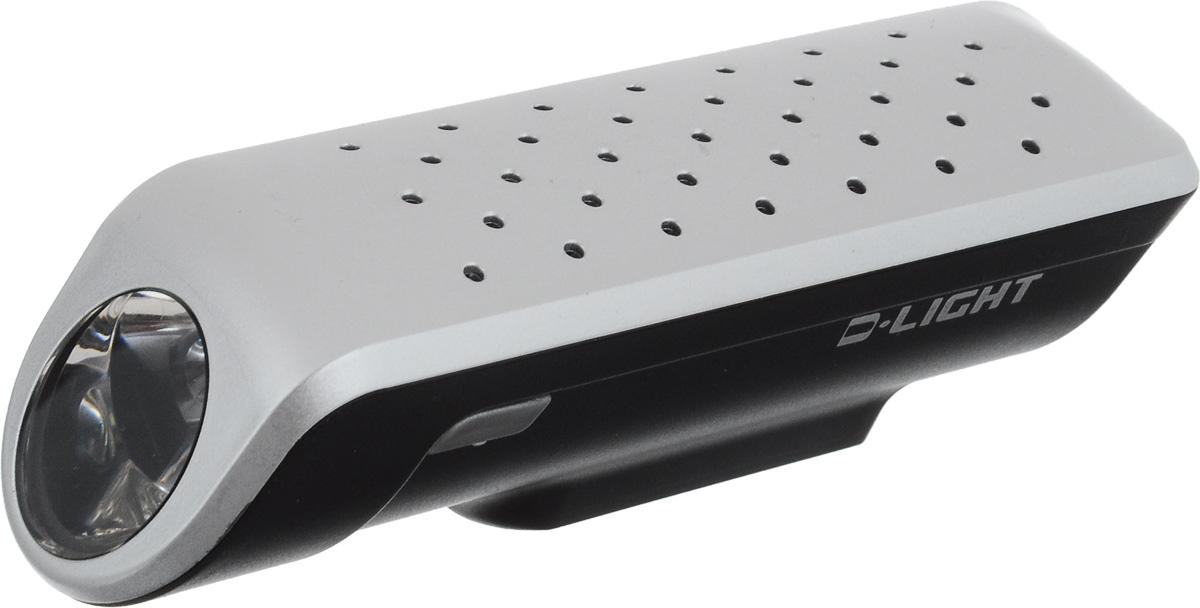 Фара велосипедная D-Light CG-119, цвет: серебристый, черныйCG-117P-SilverФара D-Light CG-119P предназначена для обеспечения большей безопасности при поездках в темное время суток. Легко снимается и помещается в кармане. Фара крепится без дополнительных инструментов. Корпус изделия выполнен из прочного пластика, водонепроницаем. Фара имеет 3 режима: мигание, ближний и дальний свет.Фонарь питается от 3 батарей типа ААА (входят в комплект).Время свечения в режиме дальнего света: 15 ч.Время свечения в режиме ближнего света: 30 ч.Время мигания: 60 ч.Размер фары (без учета крепления): 9,7 х 2,8 х 2,7 см.