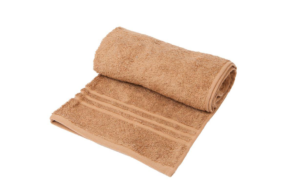 Полотенце махровое Arloni Marvel, цвет: кофейный, 100 x 150 см. 44033.4 полотенца банные arloni набор полотенце махровое 3 штуки