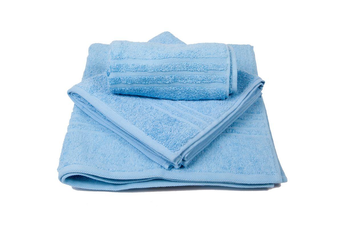 Набор махровых полотенец Arloni Marvel, цвет: голубой, 3 шт44040.6Набор Arloni Marvel состоит из трех полотенец разных размеров. Полотенца, выполненные из натурального хлопка, подарят вам мягкость и необыкновенный комфорт в использовании. Ткань не вызывает аллергических реакций, обладает высокой гигроскопичностью и воздухопроницаемостью. Полотенца великолепно впитывают влагу, нежные на ощупь не теряют своих свойств после многократной стирки.