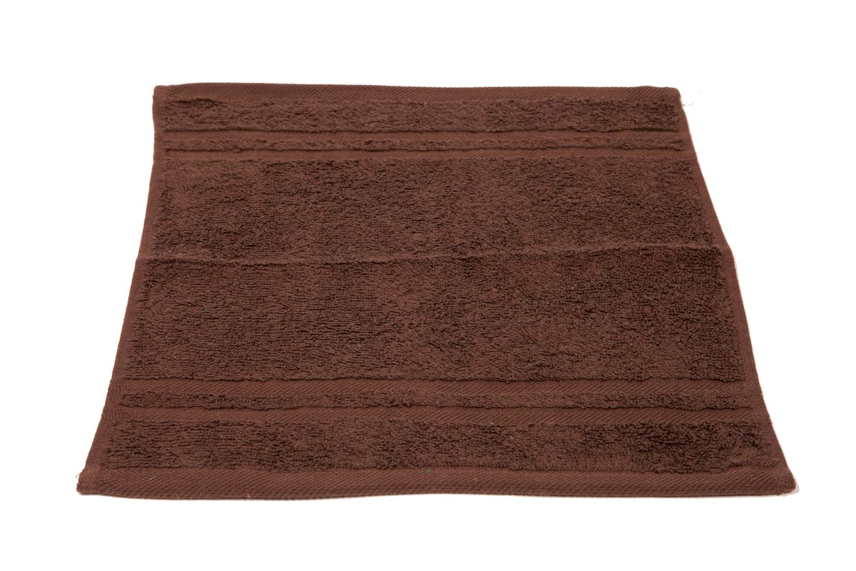 цена на Полотенце махровое Arloni Marvel, цвет: шоколадный, 40 x 70 см. 44041.1