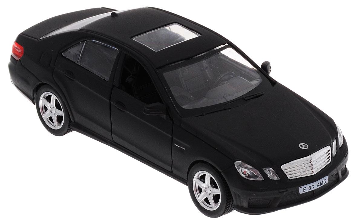Uni-Fortune Toys Модель автомобиля Mercedes-Benz E 63 AMG цвет черный uni fortunetoys модель автомобиля volkswagen touareg