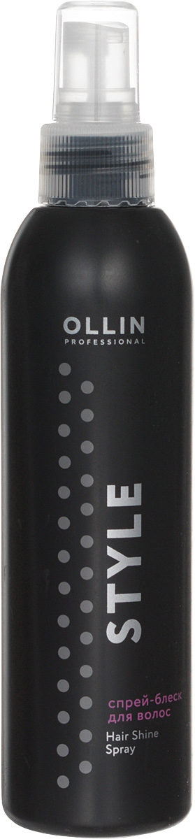Ollin Спрей-блеск для волос Professional Style Hair Shine Spray 200 мл спреи the saem спрей для укладки волос silk hair style fix water spray