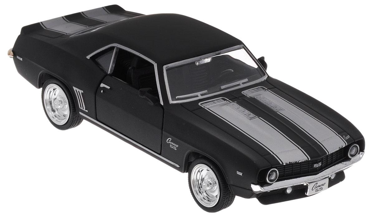 Uni-Fortune Toys Модель автомобиля Chevrolet Camaro SS 1969 цвет черный uni fortunetoys модель автомобиля volkswagen touareg