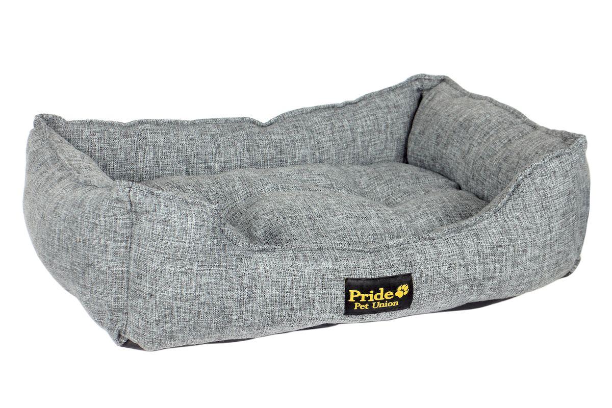 Лежак для животных Pride  Прованс , цвет: графитовый, 90 х 80 х 25 см - Лежаки, домики, спальные места