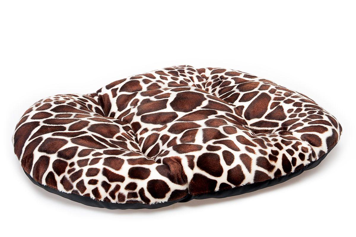 Матрас для животных Pride Жираф, 53 х 43 см10021052Матрас для животных Pride  Жираф изготовлен из полиэстера и идеален для переносок и использования в автомобиле. Он станет излюбленным местом вашего питомца, подарит ему спокойный и комфортный сон. Яркий дизайн позволяет матрасу выглядеть привлекательным даже в период линьки.