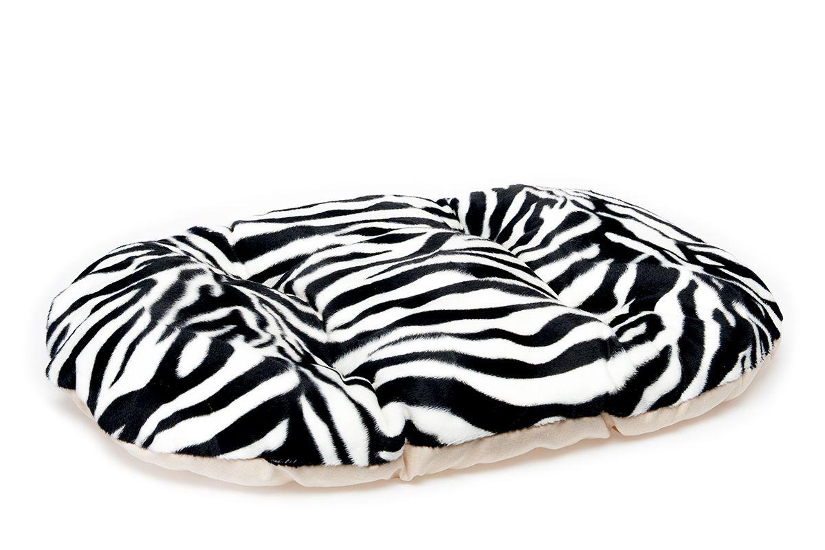 Матрас для животных Pride Зебра, 71 х 54 см10021073Матрас для животных Pride  Зебра изготовлен из полиэстера и идеален для переносок, и использования в автомобиле. Он станет излюбленным местом вашего питомца, подарит ему спокойный и комфортный сон. Яркий дизайн позволяет матрасу выглядеть привлекательным даже в период линьки.