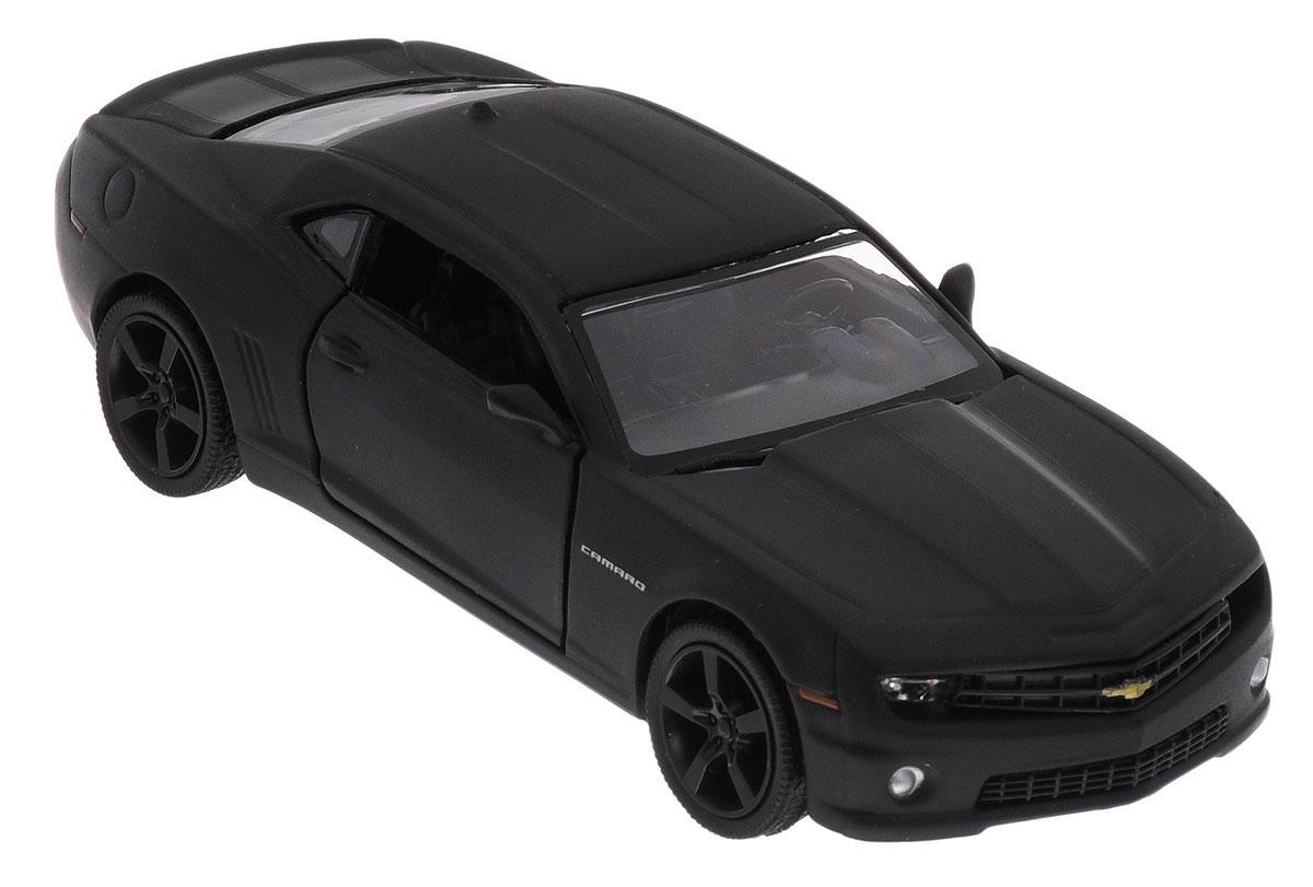 Uni-Fortune Toys Модель автомобиля Chevrolet Camaro цвет черный uni fortunetoys модель автомобиля porsche cayenne turbo