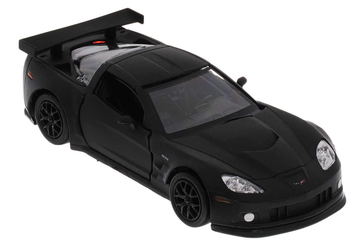 Uni-FortuneToys Модель автомобиля Chevrolet Corvette C6-R цвет черный uni fortunetoys модель автомобиля volkswagen touareg