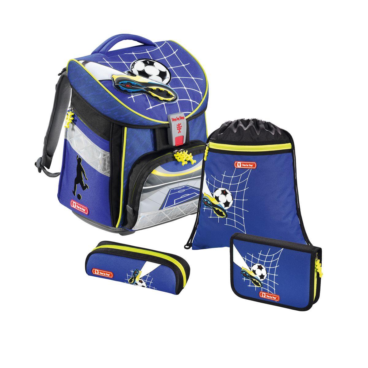 Hama Ранец школьный для мальчика Step By Step Comfort Top Soccer с наполнением eowyn kerr insight guides rome step by step