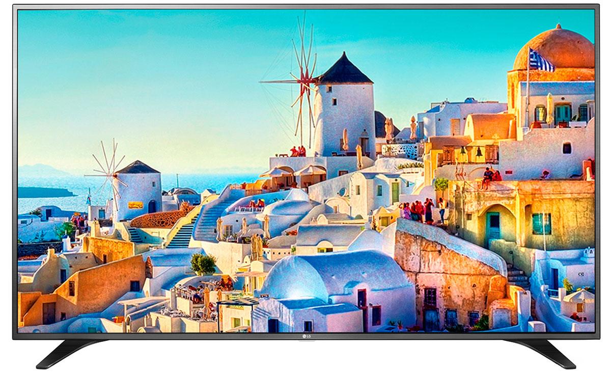 LG 55UH651V телевизор55UH651VСовременный телевизор LG 55UH651V для всей семьи.HDR Pro:Функция HDR Pro позволяет увидеть фильмы с теми яркостью, богатейшей палитрой и точностью цветовых оттенков, с какими они были сняты.ColorPrime Pro:Яркие и сочные, натуральные оттенки теперь могут быть отображены благодаря расширенному цветовому спектру дисплея UHD телевизоров LG.Широкий угол обзора:IPS 4K экран UHD телевизора LG всегда покажет вам идентичные цвета вне зависимости от того из какой части комнаты вы будете его смотреть.УЛЬТРА Яркость:Схема строения панели и внутренней подсветки в UHD телевизоре LG позволяет свести к минимуму появление ореолов на границе ярких и тёмных объектов, что способствует наилучшему восприятию контрастных сцен.Трёхмерная обработка цвета:В UHD телевизоре LG используется трёхмерный алгоритм обработки цвета, что позволяет минимизировать искажения и добиться оттенков, максимально приближенных к натуральным.Локальное затемнение:Алгоритм Локального затемнения заключается в управлении подсветкой каждого блока пикселей в отдельности. Его главная задача - увеличение контрастности и детализации изображения. В результате объекты имеют более чёткие границы, детали цветов более точные, а тёмный фон наиболее насыщен.Энергосбережение:Эта функция включает в себя контроль подсветки, который позволяет регулировать яркость экрана в целях экономии электроэнергии.Дизайн ULTRA Slim:Оцените инновационный сверхтонкий дизайн ULTRA Slim, который придает телевизору исключительно изысканный и элегантный вид. Дизайн ULTRA Slim не только позволит вам сэкономить место, но и гармонично дополнит собой современный эстетичный интерьер вашего дома.ULTRA Surround:Специальный алгоритм преобразовывает звуковые волны, исходящие из двухканальных динамиков так, что вам будет казаться, что вы слушаете 7-канальный звук. Получите ещё больше удовольствия от просмотра 4К фильмов!webOS 3.0:Обновлённая операционная система LG SMART TV на базе webOS 3.0 создана для того, чтобы доступ к фильмам