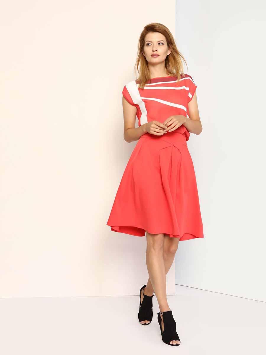 Юбка Top Secret, цвет: коралловый. SSD0997CE. Размер 36 (42) шорты женские top secret цвет оранжевый ssz0727po размер 36 42