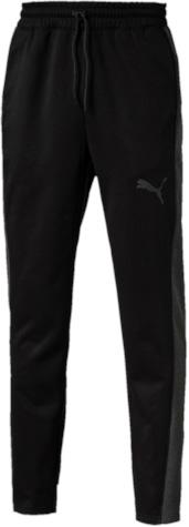 Брюки спортивные мужские Puma Tech Fleece Pant, цвет: черный. 51459102. Размер M (46/48)514591_02Спортивные брюки изготовлены с использованием высокофункциональной технологии warmCell, которая благодаря дышащим свойствам материала удерживает тепло и сохраняет оптимальную температуру вашего тела даже в холодную погоду. Мягкий начес на изнанке создает дополнительный комфорт и уют. Подкладка из флиса вафельной структуры там, где это больше всего необходимо, не только не даст вам замерзнуть, но и обеспечит отличную вентиляцию. Эластичный пояс с внутренним затягивающимся шнуром обеспечит отличную посадку по фигуре. В боковых швах имеются два удобных кармана. Изделие имеет стандартный фасон, т.е. не заниженную, и не завышенную талию, и зауженные штанины, что делает его весьма элегантным. Среди элементов декора - логотип WarmCell, нанесенный методом термопечати.