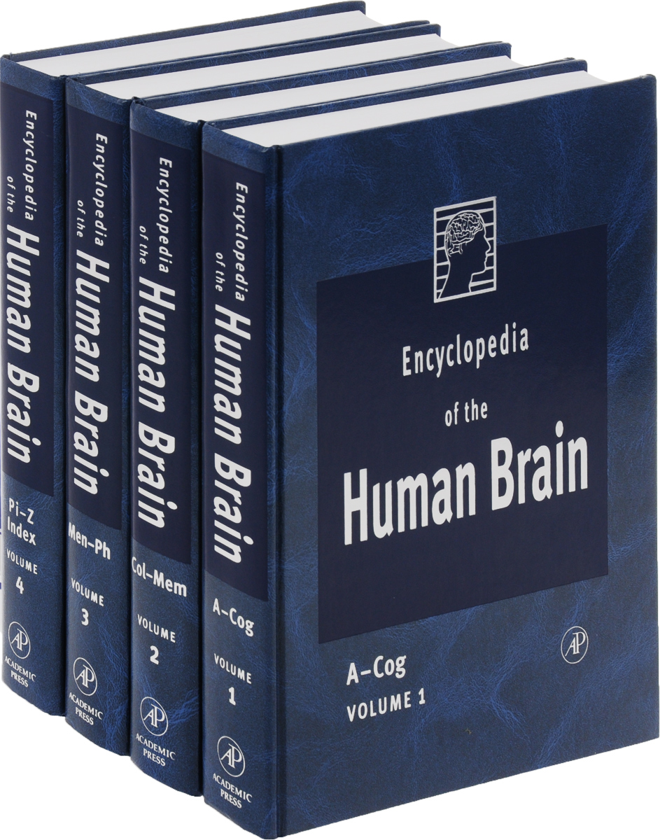 Encyclopedia of the Human Brain, Four-Volume Set, (комплект из 4 книг) soucek mark d concise encyclopedia of high performance silicones