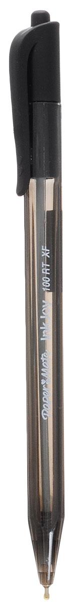 Ручка автоматическая шариковая INKJOY 100, треугольный корпус, черная, 0,5 мм