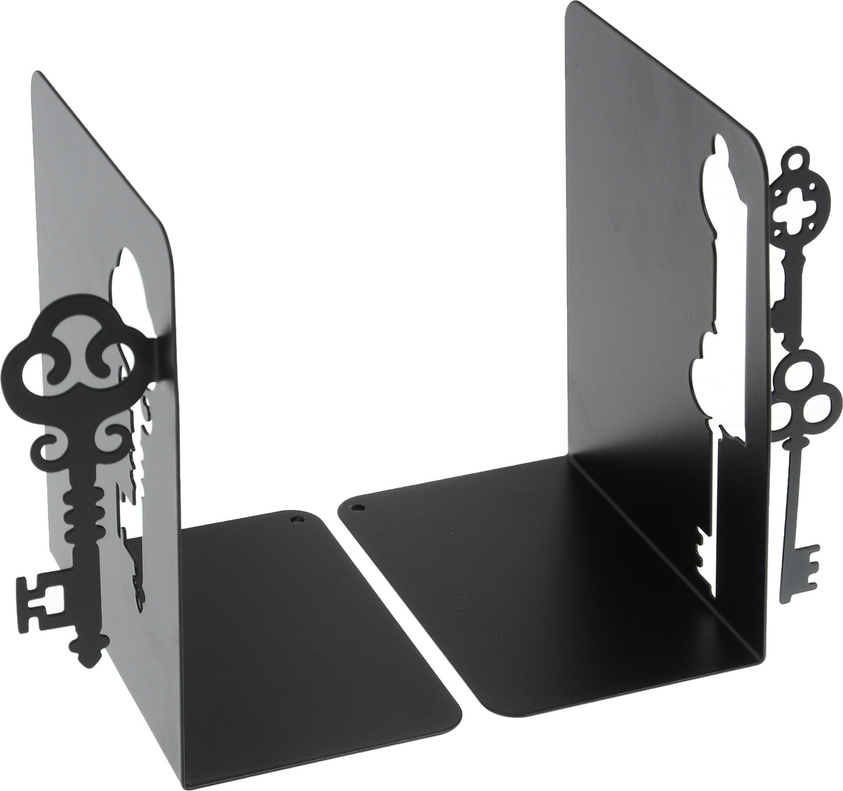 Подставка-ограничитель декоративная для книг Феникс-Презент Ключи, 2 шт подставка ограничитель для книг купола