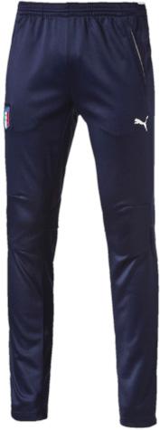 Брюки спортивные мужские Puma Figc Italia Training Pants, цвет: синий. 748980041. Размер S (44/46) брюки puma брюки figc stadium pant tapered