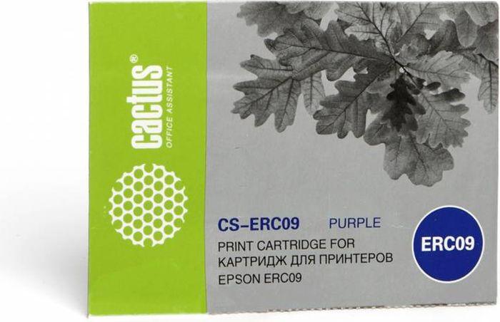 Cactus CS-ERC09, Magenta картридж ленточный для Epson ERC09 картридж ленточный cactus cs lq100