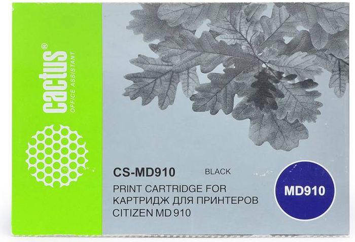 Cactus CS-MD910, Black картридж ленточный для Citizen MD-910CS-MD910Картридж ленточный Cactus CS-MD910 для матричных принтеров Citizen MD-910.Расходные материалы Cactus для печати максимизируют характеристики принтера. Они обеспечивают повышенную четкость изображения и надежное качество печати.