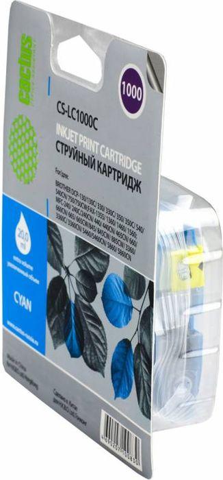 Cactus CS-LC1000C, Cyan картридж струйный для Brother DCP 130C/330С/MFC-240C/5460CNCS-LC1000CКартридж Cactus CS-LC1000C для струйных принтеров Brother.Расходные материалы Cactus для струйной печати максимизируют характеристики принтера. Обеспечиваютповышенную четкость цветов и плавность переходов оттенков и полутонов, позволяют отображать мельчайшиедетали изображения. Обеспечивают надежное качество печати.