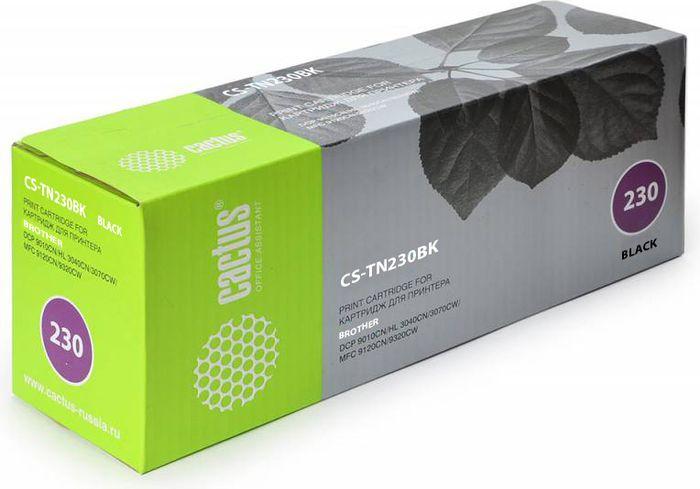 Cactus CS-TN230BK, Black тонер-картридж для Brother HL-3040/3070/DCP-9010/MFC-9120CS-TN230BKТонер-картридж Cactus CS-TN230BK для лазерных принтеров Brother HL-3040/3070/DCP-9010/MFC-9120.Расходные материалы Cactus для лазерной печати максимизируют характеристики принтера. Обеспечивают повышенную чёткость чёрного текста и плавность переходов оттенков серого цвета и полутонов, позволяют отображать мельчайшие детали изображения. Гарантируют надежное качество печати.