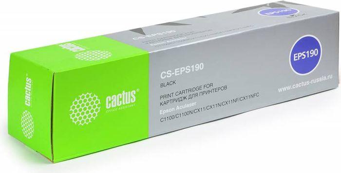 Cactus CS-EPS190, Black тонер-картридж для Epson AcuLaser C1100/C1100N/CX11/CX11N/CX11NF/CX11NFCCS-EPS190Тонер-картридж Cactus CS-EPS190 для лазерных принтеров Epson AcuLaser C1100/C1100N/CX11/CX11N/CX11NF/CX11NFC.Расходные материалы Cactus для лазерной печати максимизируют характеристики принтера. Обеспечивают повышенную чёткость чёрного текста и плавность переходов оттенков серого цвета и полутонов, позволяют отображать мельчайшие детали изображения. Гарантируют надежное качество печати.