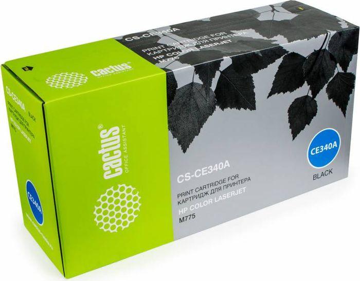 Cactus CS-CE340A, Black тонер-картридж для HP CLJ M775CS-CE340AТонер-картридж Cactus CS-CE340A для лазерных принтеров HP CLJ M775.Расходные материалы Cactus для лазерной печати максимизируют характеристики принтера. Обеспечивают повышенную чёткость чёрного текста и плавность переходов оттенков серого цвета и полутонов, позволяют отображать мельчайшие детали изображения. Гарантируют надежное качество печати.