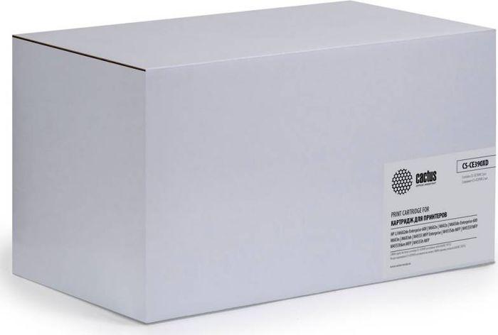 Cactus CS-CE390XD, Black тонер-картридж для HP LJ M4555MFPCS-CE390XDТонер-картридж Cactus CS-CE390XD для лазерных принтеров HP LJ M4555MFP.Расходные материалы Cactus для лазерной печати максимизируют характеристики принтера. Обеспечивают повышенную чёткость чёрного текста и плавность переходов оттенков серого цвета и полутонов, позволяют отображать мельчайшие детали изображения. Гарантируют надежное качество печати.В комплект входит 2 тонер-картриджа.