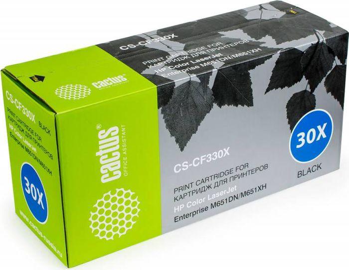 Cactus CS-CF330X, Black тонер-картридж для HP CLJ M651dn/M651n/M651xhCS-CF330XТонер-картридж Cactus CS-CF330X для лазерных принтеров HP CLJ M651dn/M651n/M651xh.Расходные материалы Cactus для лазерной печати максимизируют характеристики принтера. Обеспечивают повышенную чёткость чёрного текста и плавность переходов оттенков серого цвета и полутонов, позволяют отображать мельчайшие детали изображения. Гарантируют надежное качество печати.