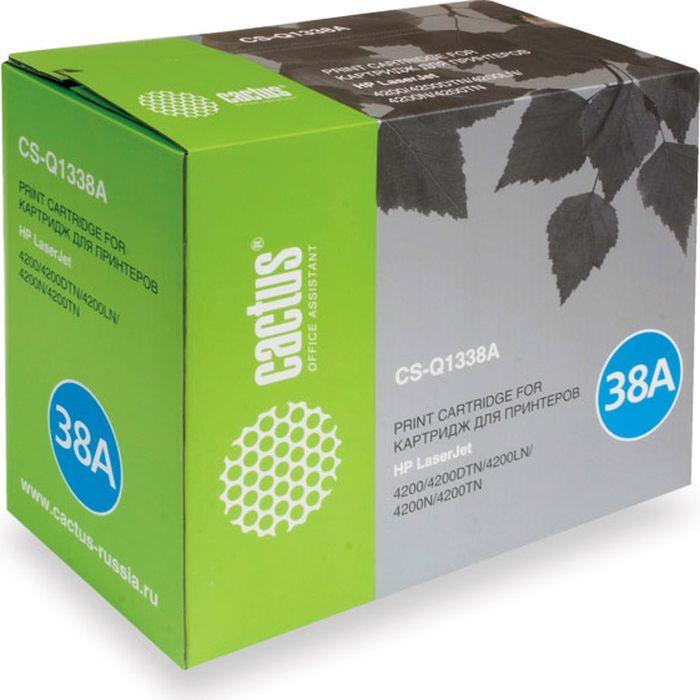 Cactus CS-Q1338A, Black тонер-картридж для HP LJ 4200/4200DTN/4200LN/4200N/4200TNCS-Q1338AТонер-картридж Cactus CS-Q1338A для лазерных принтеров HP LJ 4200/4200DTN/4200LN/4200N/4200TN.Расходные материалы Cactus для лазерной печати максимизируют характеристики принтера. Обеспечивают повышенную чёткость чёрного текста и плавность переходов оттенков серого цвета и полутонов, позволяют отображать мельчайшие детали изображения. Гарантируют надежное качество печати.