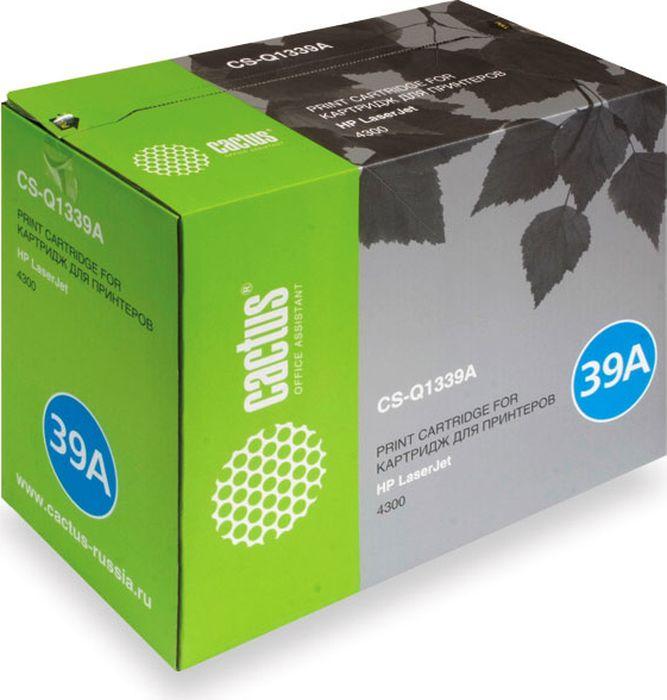 Cactus CS-Q1339A, Black тонер-картридж для HP LJ 4300CS-Q1339AТонер-картридж Cactus CS-Q1339A для лазерных принтеров HP LJ 4300.Расходные материалы Cactus для лазерной печати максимизируют характеристики принтера. Обеспечивают повышенную чёткость чёрного текста и плавность переходов оттенков серого цвета и полутонов, позволяют отображать мельчайшие детали изображения. Гарантируют надежное качество печати.