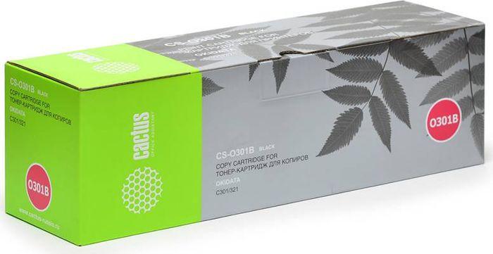 Cactus CS-O301BK, Black тонер-картридж для Oki C301/321CS-O301BKТонер-картридж Cactus CS-O301BK для лазерных принтеров Oki C301/321.Расходные материалы Cactus для лазерной печати максимизируют характеристики принтера. Обеспечивают повышенную чёткость чёрного текста и плавность переходов оттенков серого цвета и полутонов, позволяют отображать мельчайшие детали изображения. Гарантируют надежное качество печати.