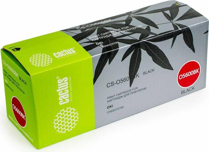 Cactus CS-O5600BK, Black тонер-картридж для Oki C5600/C5700CS-O5600BKТонер-картридж Cactus CS-O5600BK для лазерных принтеров Oki C5600/C5700.Расходные материалы Cactus для лазерной печати максимизируют характеристики принтера. Обеспечивают повышенную чёткость чёрного текста и плавность переходов оттенков серого цвета и полутонов, позволяют отображать мельчайшие детали изображения. Гарантируют надежное качество печати.