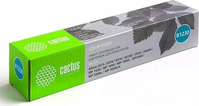 Cactus CS-R1230D, Black тонер-картридж для Ricoh Aficio 2015/2016/2018/2020/MP 1500/MP 1600/MP 2000CS-R1230DТонер-картридж Cactus CS-R1230D для лазерных принтеров Ricoh Aficio 2015/2016/2018/2020/MP 1500/MP 1600/MP 2000.Расходные материалы Cactus для лазерной печати максимизируют характеристики принтера. Обеспечивают повышенную чёткость чёрного текста и плавность переходов оттенков серого цвета и полутонов, позволяют отображать мельчайшие детали изображения. Гарантируют надежное качество печати.