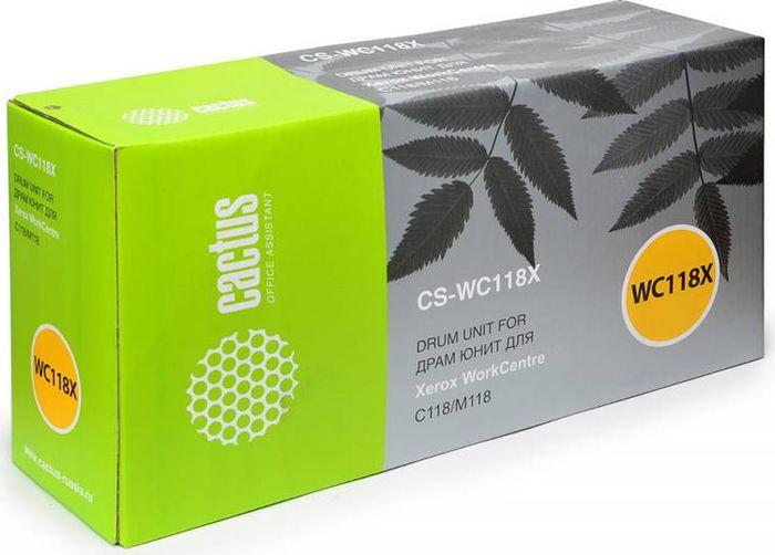 Cactus CS-WC118X 013R00589, Black тонер-картридж для Xerox WC C118/M118CS-WC118XТонер-картридж Cactus CS-WC118X 013R00589 для лазерных принтеров Xerox WorkCentre C118/M118.Расходные материалы Cactus для лазерной печати максимизируют характеристики принтера. Обеспечивают повышенную чёткость чёрного текста и плавность переходов оттенков серого цвета и полутонов, позволяют отображать мельчайшие детали изображения. Гарантируют надежное качество печати.