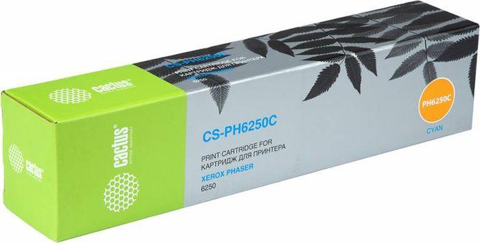 Cactus CS-PH6250C 106R00668, Cyan тонер-картридж для Xerox Phaser 6250CS-PH6250CТонер-картридж Cactus CS-PH6250C 106R00668 для лазерных принтеров Xerox Phaser 6250.Расходные материалы Cactus для лазерной печати максимизируют характеристики принтера. Обеспечивают повышенную чёткость чёрного текста и плавность переходов оттенков серого цвета и полутонов, позволяют отображать мельчайшие детали изображения. Гарантируют надежное качество печати.