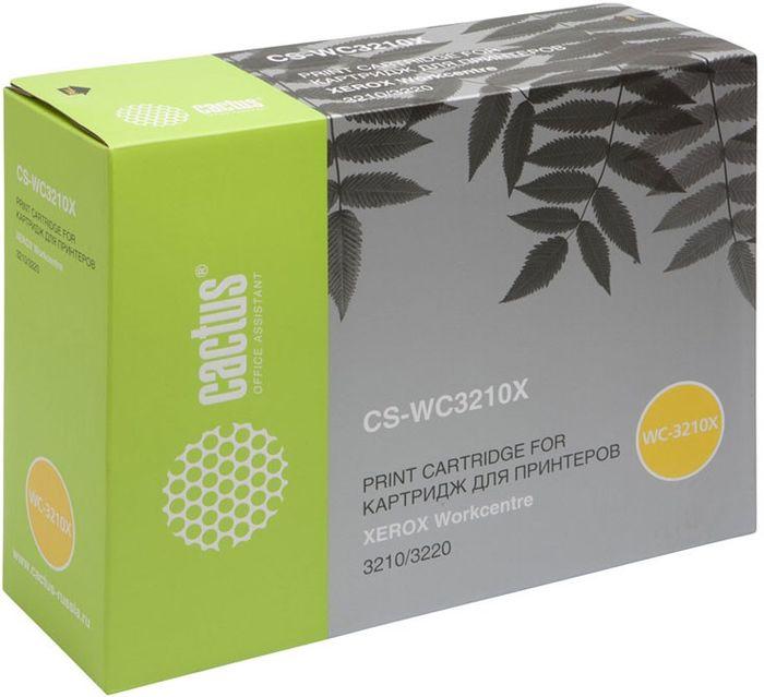 Cactus CS-WC3210X 106R01487, Black тонер-картридж для Xerox WorkCentre 3210/ 3220CS-WC3210XТонер-картридж Cactus CS-WC3210X 106R01487 для лазерных принтеров Xerox WorkCentre 3210/ 3220.Расходные материалы Cactus для лазерной печати максимизируют характеристики принтера. Обеспечивают повышенную чёткость чёрного текста и плавность переходов оттенков серого цвета и полутонов, позволяют отображать мельчайшие детали изображения. Гарантируют надежное качество печати.