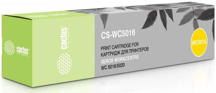 Cactus CS-WC5016 106R01277, Black тонер-картридж для Xerox WorkCentre 5016/5020CS-WC5016Тонер-картридж Cactus CS-WC5016 106R01277 для лазерных принтеров Xerox WorkCentre 5016/5020.Расходные материалы Cactus для лазерной печати максимизируют характеристики принтера. Обеспечивают повышенную чёткость чёрного текста и плавность переходов оттенков серого цвета и полутонов, позволяют отображать мельчайшие детали изображения. Гарантируют надежное качество печати.В комплект входит 2 тонер-картриджа.