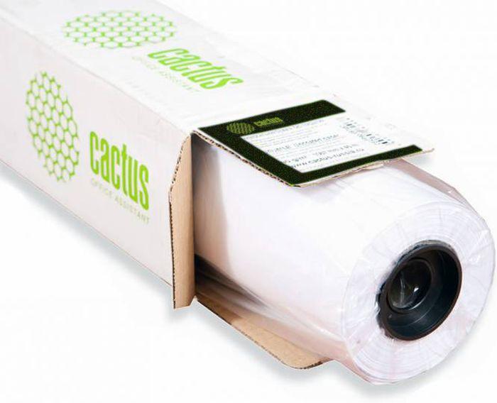 Cactus CS-WP2512-1X51 1000мм/195г/м2 матовые полугладкие фотообои для сольвентной/латексной/УФ печати (51 м) -