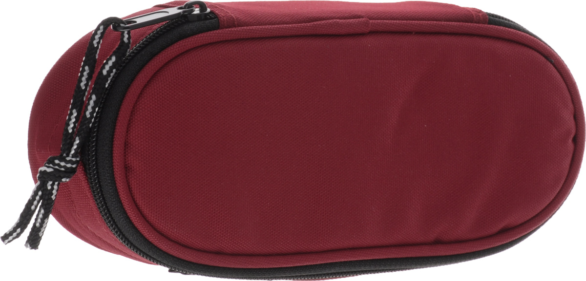 Herlitz Пенал-косметичка Case цвет красный11402609Пенал-косметичка CASE без наполнения. Размеры 6х21.5х9см. Изготовлен из качественного полиэстера.