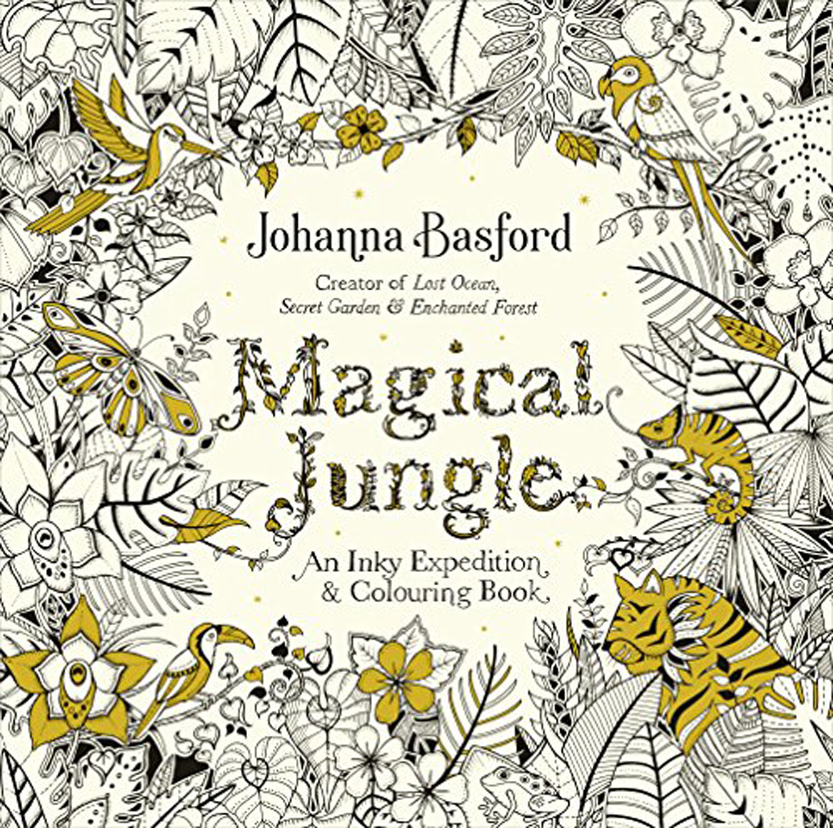 Magical Jungle: An Inky Expedition & Colouring Book the usborne terrific colouring and sticker book