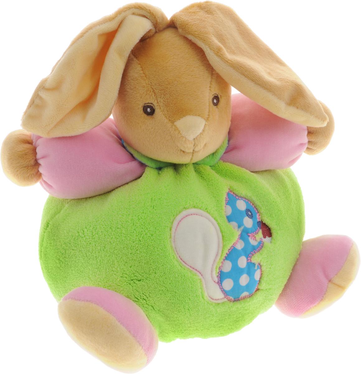 Kaloo Мягкая игрушка Заяц Белка 22 см kaloo мягкая игрушка заяц большой песочный коллекция руж kaloo
