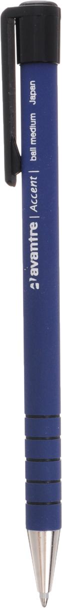 Автоматическая шариковая ручка Accent, синий корпус, синий, линия 0,35 мм шариковая ручка автоматическая senator super hit синий 2883 бгс 2883 бгс