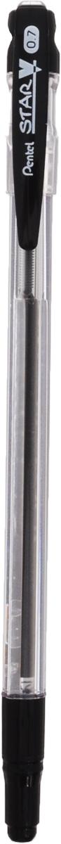 Шар.ручка STAR V черный стержень 0.7мм в блистереPBK66-A