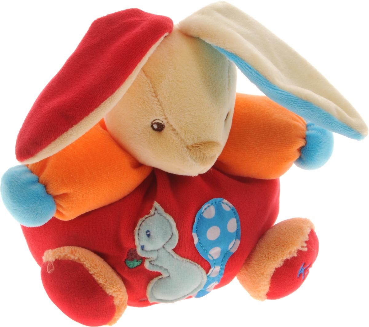 Kaloo Мягкая игрушка Заяц Белочка 15 см kaloo мягкая игрушка заяц большой песочный коллекция руж kaloo