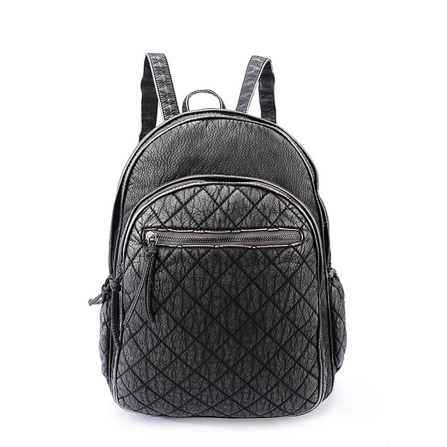 Рюкзак женский Orsa Oro, цвет: темно-серый. D-193/57
