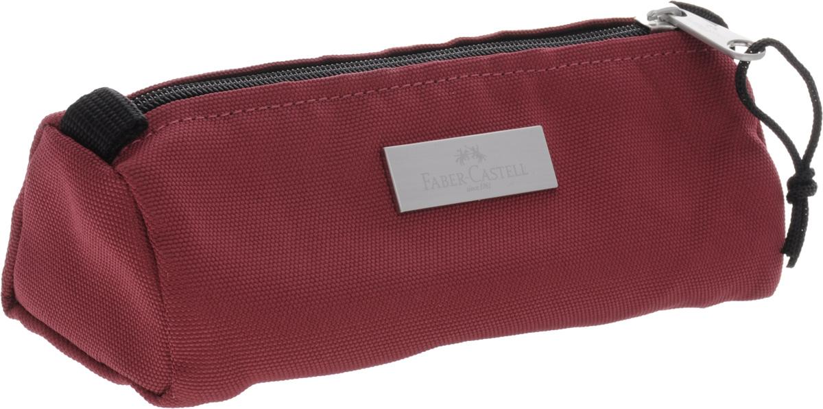 Faber-Castell Пенал прямоугольный цвет бордовый