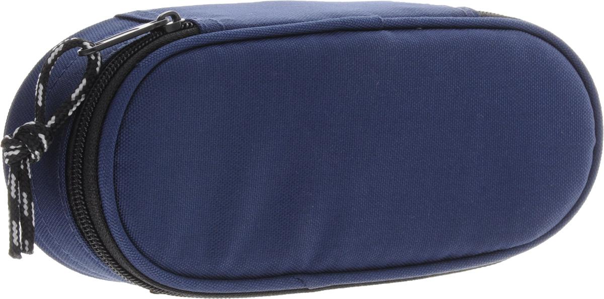 Herlitz Пенал-косметичка Case цвет синий11415916Пенал-косметичка CASE. Размеры 6х21.5х9см. Изготовлен из качественного полиэстера.