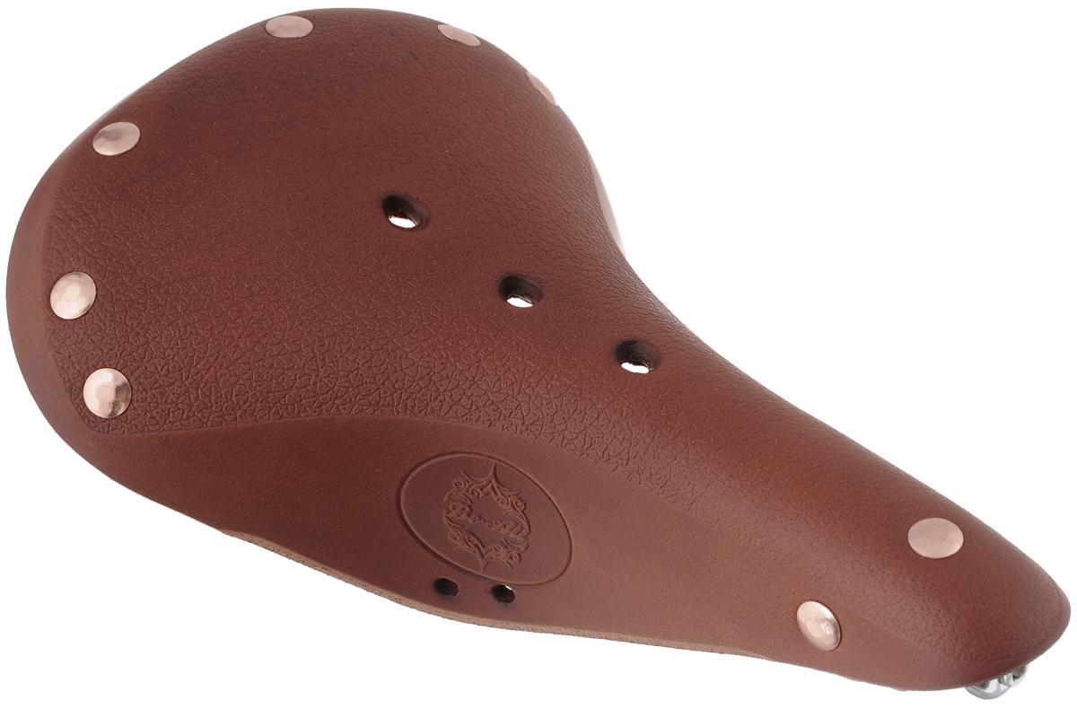 Седло велосипедное Be-All Type W, цвет: коричневый, стальной, 28 х 17 смTYPE W HONNYУниверсальное велосипедное седло анатомическая формы Be-All Type W обладает повышенным комфортом и имеет облегченная конструкцию. Специальный наполнитель, выполненный из вспененного полимера, обеспечивает мягкость и сохранение формы седла.В комплект входит мешок для хранения и транспортировки, 2 гаечных ключа для крепления седла и инструкция по установке.