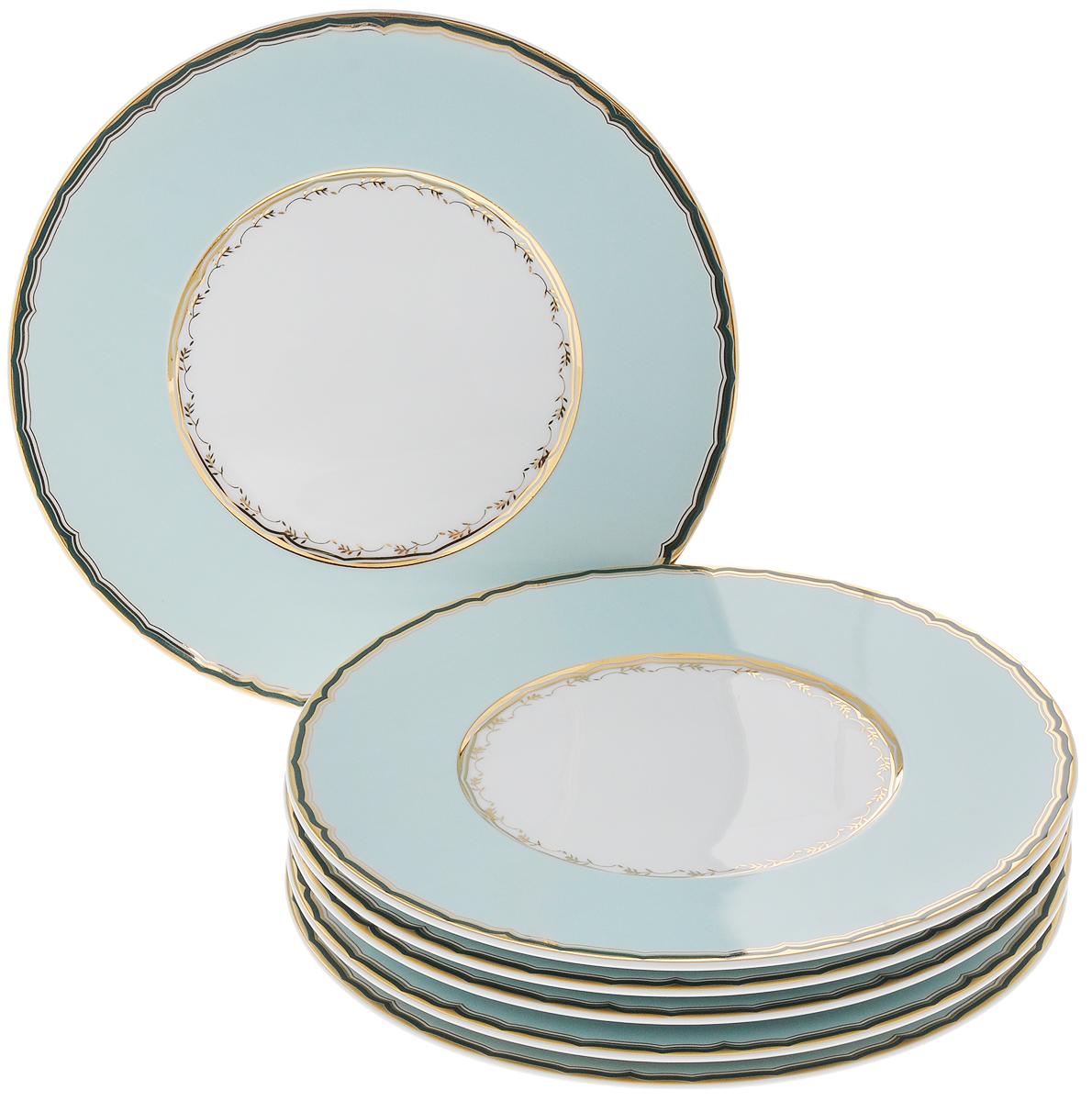 Набор подстановочных тарелок Yves De La Rosiere Zen, диаметр 27 см, 6 шт839002 2130Набор Yves De La Rosiere Zen состоит из 6 круглых подстановочных тарелок, изготовленных из высококачественного фарфора, который отличается практичностью и высоким качеством исполнения. Яркий дизайн придется по вкусу и ценителям классики, и тем, кто предпочитает утонченность и изысканность. Подстановочные тарелки выполняют декоративную функцию и служат для придания столу торжественного вида. Такой набор прекрасно оформит праздничный стол и станет замечательным подарком для ваших друзей и близких.