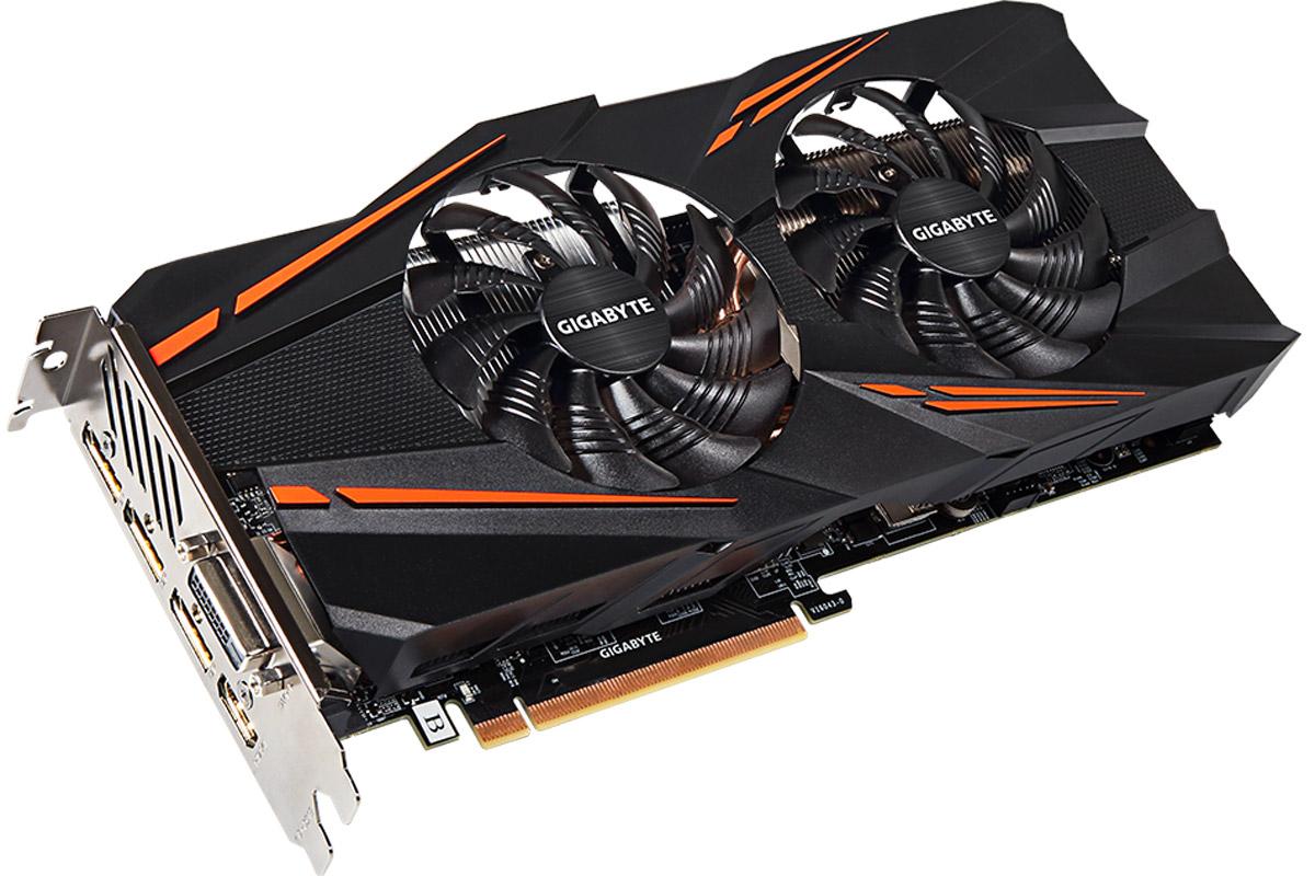 Gigabyte GeForce GTX 1070 Windforce OC 8GB видеокарта